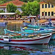 Colours Of Greece Art Print