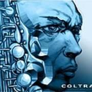 Coltrane Art Print