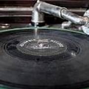 Columbia Record Art Print