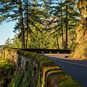 Columbia River Gorge Highway Art Print