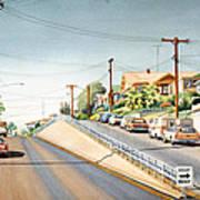 Columbia Street Middletown Art Print