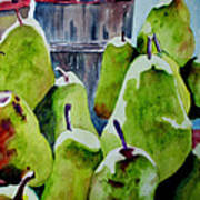 Columbus Pears Art Print