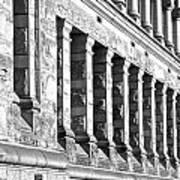 Columnar Facade Art Print