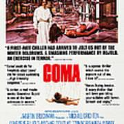 Coma, Left Genevieve Bujold On Poster Art Print
