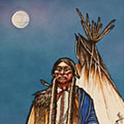 Comanche Moon Art Print