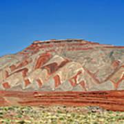 Comb Ridge Utah Near Mexican Hat Art Print by Christine Till