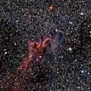 Cometary Globules In Vela And Puppis Art Print