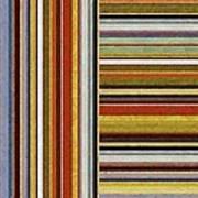 Comfortable Stripes Lx Art Print