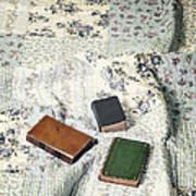 Comfy Reading Time Art Print by Joana Kruse