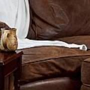Comfy Sofa Art Print