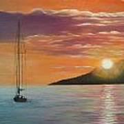 Coming Home English Bay Art Print