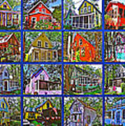 Coming Home Photo Assemblage In Asbury Grove In South Hamilton-massachusetts Art Print