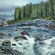 Coming Water Art Print