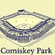 Comiskey Park 1910 Art Print
