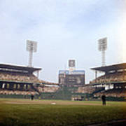 Comiskey Park Photo From The Outfield Art Print