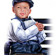 Commissioned - Handsome Baby Boy 1a Art Print