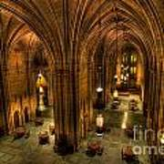 Commons Room Cathedral Of Learning University Of Pittsburgh Art Print