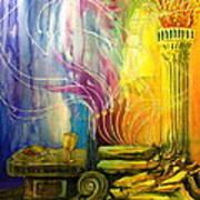 Communion Table Art Print