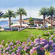 Community Center At Del Mar Art Print