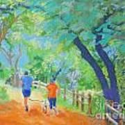 Community On The Run Art Print