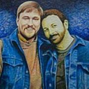 Complete_portrait Of Craig And Ron Art Print