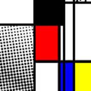 Composition 100 Art Print