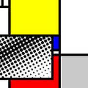 Composition 115 Art Print