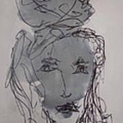 Composition 65 Art Print