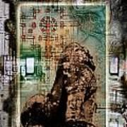 Composition Based On Angkor History Art Print