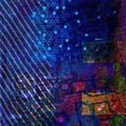 Compute Abstract Art Print