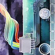 Computing Art Print by Steve Ohlsen