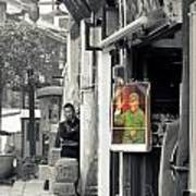 Comrade Mao Art Print