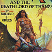 Conan And The Death Lord Of Thanza 1997 Print by The Advertising Archives