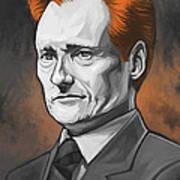 Conan O'brien Artwork Art Print