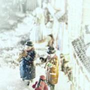 Concert In The Snow Art Print