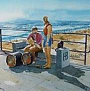Concert In The Sun To An Audience Of One Art Print