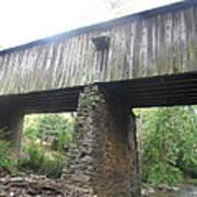 Concord Covered Bridge Art Print