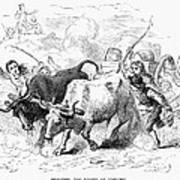 Concord: Evacuation, 1775 Art Print by Granger