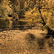 Concord River At Old North Bridge Art Print