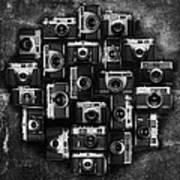 Concrete Camera Art Print