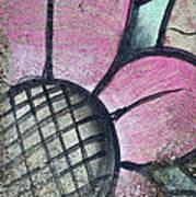 Concrete Flowers Art Print