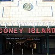 Coney Island Bmt Subway Station Art Print