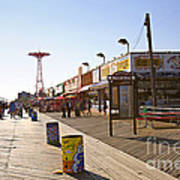 Coney Island Memories 8 Art Print