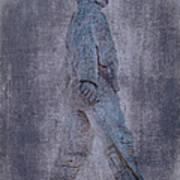 Soldier Statue Vii Alabama State Capitol Art Print