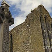 Cong Abbey, Ireland Art Print
