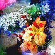 Conjuring Claude Monet Art Print