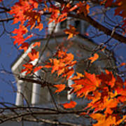 Connecticut Fall Colors Art Print by Jeff Folger
