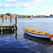 Connecticut Mystic Seaport Art Print