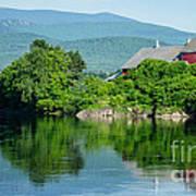Connecticut River Farm II Art Print