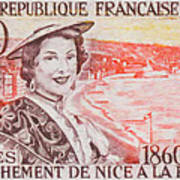 Connecting The Nice France 1860-1960 Art Print